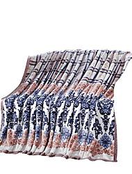Фланель Разноцветный,Сплошная Полоски 100% полиэфир одеяла 200x230cm