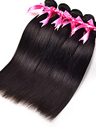 3Pcs/Lot Indian Silk Straight Virgin Hair Weft Weaving Virgin Indian Straight Hair Extension No Shedding