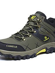 Femme-Extérieure / Décontracté / Sport-Vert / Kaki-Talon Plat-Confort-Chaussures d'Athlétisme-Microfibre / Polyuréthane