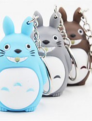 Totoro Animation Keychain LED Light Emitting Keychain Random Delivery