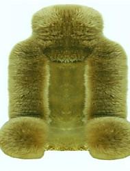 pur australian coussin de siège de voiture de laine toute la fourrure de la fourrure en automne et en voiture d'hiver siège