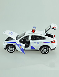 Action Figure Model & Building Toy Car Metal White For Boys Above 3