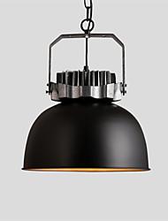 Max 60W Vintage Simple Loft Pendant Lights Metal Dining Room Kitchen Bar Cafe Hallway Balcony Light Fixture