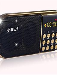 mini altoparlante audio mp3 auto lettore di carte di altoparlanti portatili A6