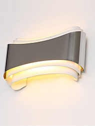AC 85-265 5W LED Integrated Modern/Contemporary Chrome Feature for LED,Ambient Light Wall Sconces Wall Light