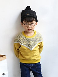 Boy's Casual/Daily Print Sweater & CardiganCotton Fall Yellow