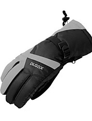 Gants de ski Gants hivernaux Homme Gants sport Garder au chaud / Antidérapage / Etanche Ski / Snowboard / Moto PU Gants de ski Hiver