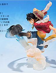 One Piece Monkey D. Luffy PVC 15cm Figures Anime Action Jouets modèle Doll Toy