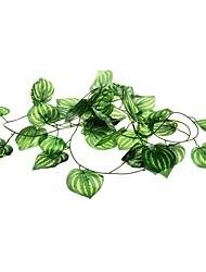 рептилия террариум амфибия искусственных растений Искусственные листья плодовых лоз пластика