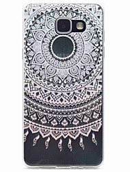 For Samsung Galaxy A5(2016) A3(2016) Pink Pattern TPU Phone Case