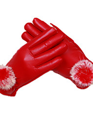 Ms Touch-Screen Areata Gloves (Red)