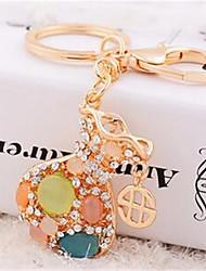 un petit trousseau sacs cristal d'opale voiture créative trousseau