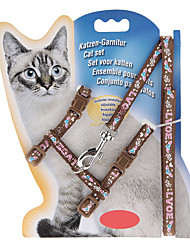 Chat Laisses Ajustable/Réglable Nature & Paysages Nylon