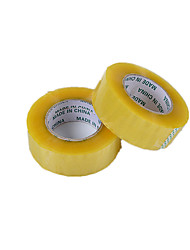 (Note Package 2 Size 200m * 4.5cm *) Transparent Sealing Tape