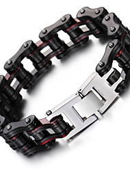 Kalen New Men's Bike Chain Bracelet Cool Biker Bicycle Chain Bracelet Fashion 316L Stainless Steel Hand Chain Gift 2016