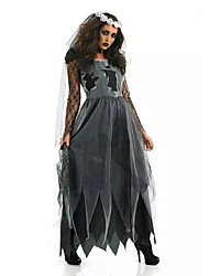Lace Sexy Women Spiritual Love Costume Sexy Ghost Bride Costume for Halloween Party