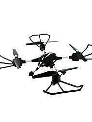 Drone HuaJun W606-2 4 Canaux 6 Axes 2.4G Avec Caméra HD 2.0MP Quadrirotor RCEclairage LED / Retour Automatique / Mode Sans Tête / Vol