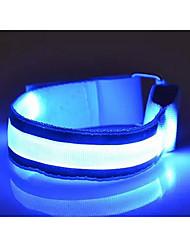 dos envasados para su venta al aire libre llevada reflexivo resplandor pulseras de brazalete deportivo