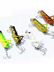1 pcs Hard Bait / Fishing Lures Hard Bait Random Colors 3 g Ounce mm inch,Hard Plastic Bait Casting