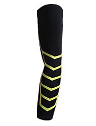 proteção esportes joelho longo do cotovelo (preto m # 120 libras ou menos)