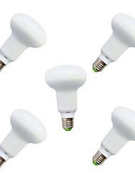 9W E26/E27 Lâmpada Redonda LED R63 18 SMD 5730 820 lm Branco Quente / Branco Frio Decorativa V 5 pçs