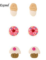 Earring Non Stone Earring Back / Stud Earrings Jewelry Women / Girls Halloween / Daily / Casual Stainless Steel / Acrylic 1set / 2pcs