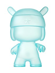 Puppen Model & Building Toy Rabbit PVC Blau