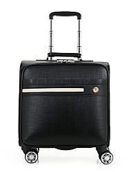 Men PU Casual Boarding Case/Cabin Case
