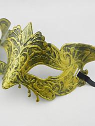 1шт восстановление древних путей наполовину лицом лисы для Хэллоуина костюм партии случайный цвет