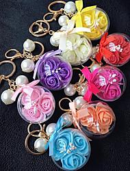 cristallo eterna accessori auto palla chiave colore fibbia fiore
