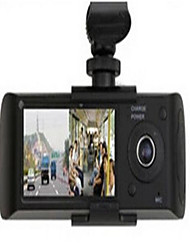 GPS Operating Track Vehicle Positioning High - Definition Dual - Lens Drive Recorder R300
