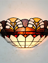 30cm Retro Country Tiffany Wall Lights Glass Shade Living Room Bedroom Restaurant Cafe Bar Wall Sconces