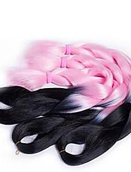box Trecce Jumbo Extensions per i capelli 24inch wholesale contact whatsApp+8618737194292 Kanekalon 3 filo 100 grammo capelli Trecce