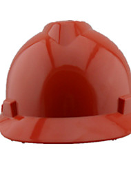 casques de construction de site abs (rouge)
