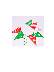 Note Red Green And White 2 Package For SaleChristmas Party Decorations