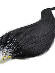 Loop Straight Hair 7A Brazilian Virgin Hair 16-24Inch Micro Ring Hair Extensions Multiple Color 100% Human Hair