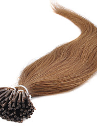 New Arrival Multiple Color Brazilian Human Hair I Tip Hair Extensions 100strands Silky Straight Fusion Hair Extensions 16-24Inch in Stock