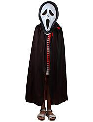 1pc dieu de la mort à double couche manteau pour costume de halloween