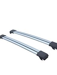 l'extension des barres de toit de galerie de toit de rails de toit silencieux en aluminium d'aile d'aigle universelles