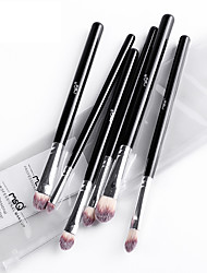 MSQ/Spirit's Silk Chloe Six Eye Brush Set Professional Full Eye Shadow Brush Set
