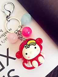 Keychain Small Monkey Car Key Ring Cartoon Female Key Chain Key Chain