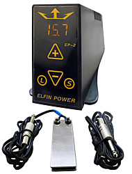 Solong Tattoo ELFIN POWER EP-2 Digital Tattoo Power Supply LCD P133