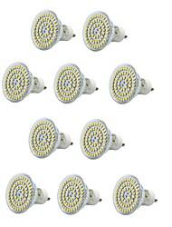6W E14 / GU10 / E26/E27 Faretti LED MR16 60 SMD 3528 550-600 lm Bianco caldo / Luce fredda Decorativo / Impermeabile V 10 pezzi