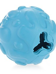 Rubber Ball Chew Treat Pet Dog Puppy Doggy Toy Training Play UK NEW