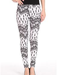 Pantaloni Da donna Skinny Sensuale Poliestere Media elasticità