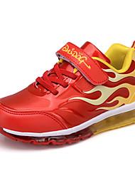 Para Meninos-Tênis-Conforto-Rasteiro-Azul Vermelho-Couro Ecológico-Ar-Livre Casual Para Esporte