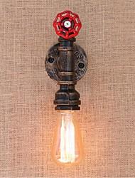 AC 220V-240V 40w e27 bg819 saudade tubulação de água simples luz decorativos de parede lâmpada de parede pequeno