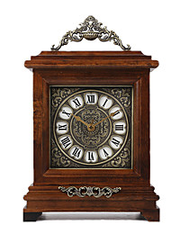 Sweep Seconds Mute/wooden Pendulum Clock