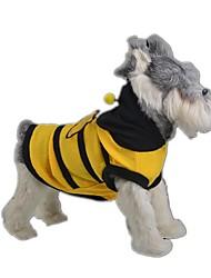 Gatos / Cães Fantasias Amarelo Roupas para Cães Verão / Primavera/Outono Animal Fofo / Fantasias