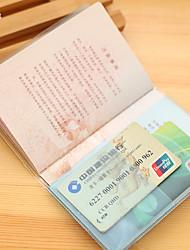 Путешествия Органайзер для паспорта и документов Хранение в дороге Водонепроницаемый / Защита от пыли / Переносной Пластик
